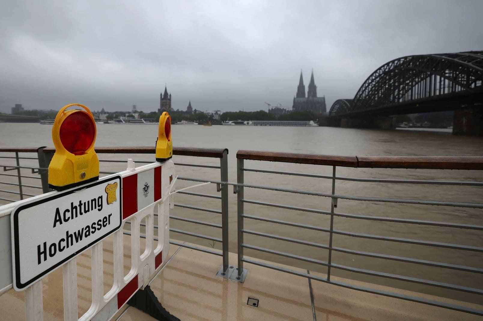 Köln Rhein Hochwasser Starkregen 6
