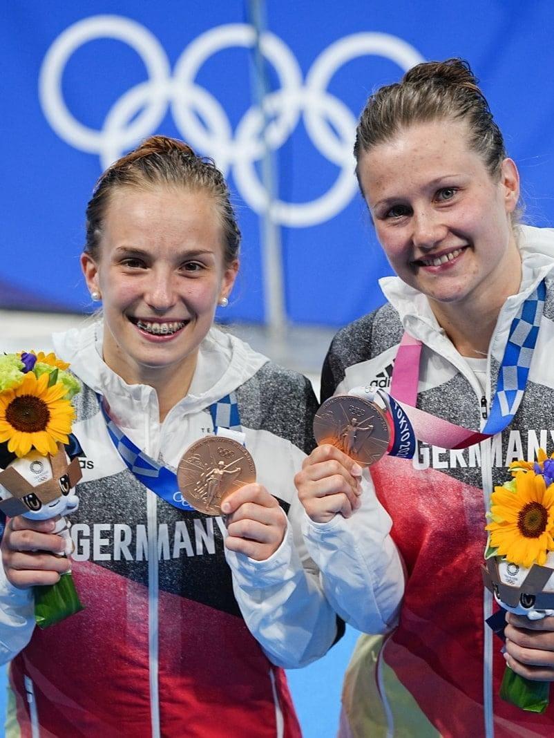 Lena Hentschel Tina Punzel Olympia 2021