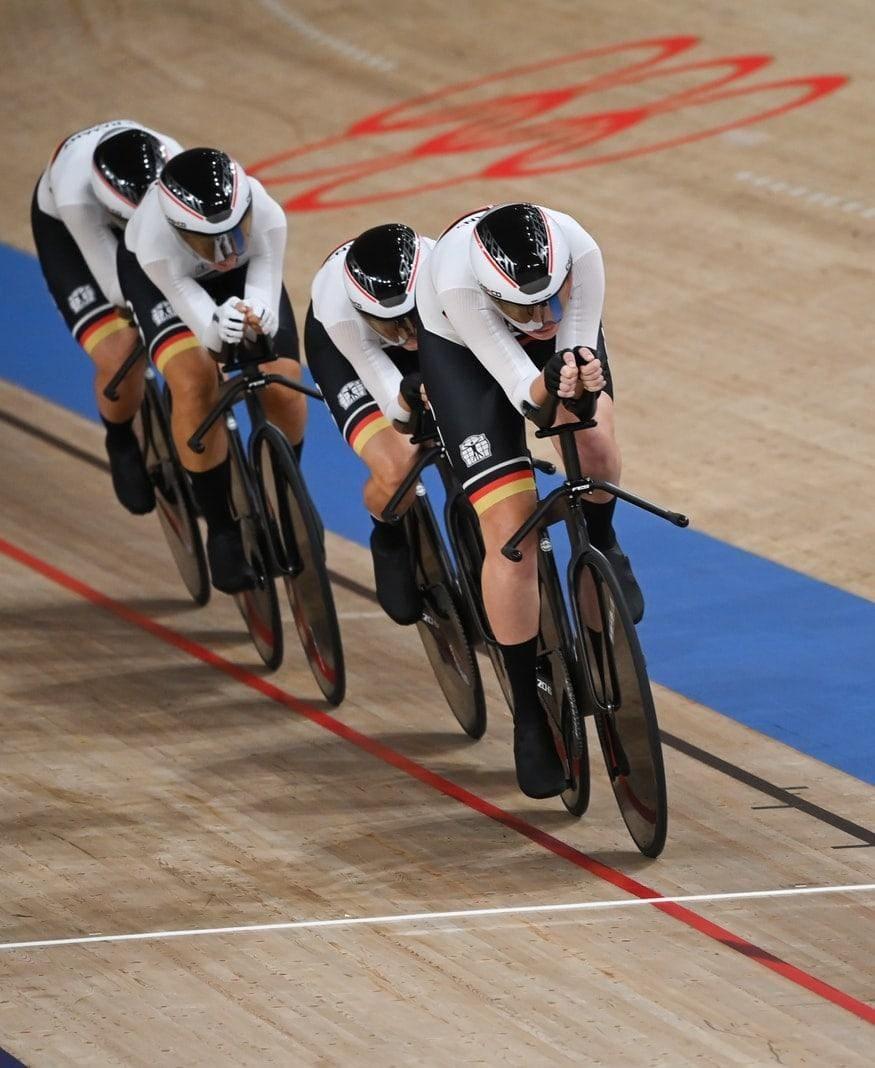 Bahnrad-Vierer Olympia 2021