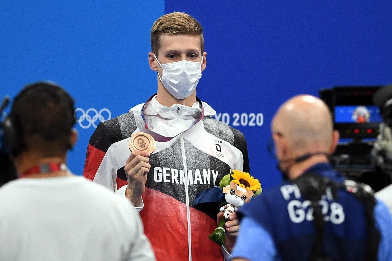 Florian Wellbrock Olympia Bronze
