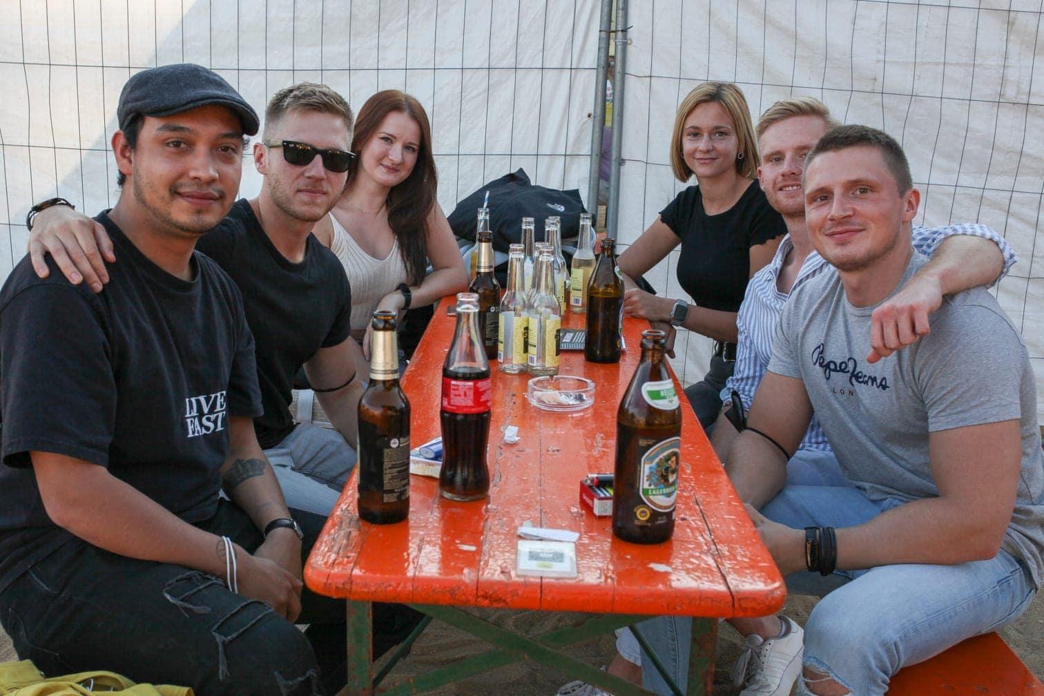 Beachclub Düsseldorf Glüh Dich Glücklich