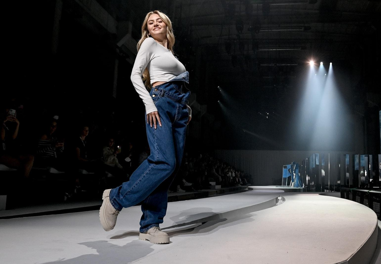 Leni Klum Berliner Modewoche für BS