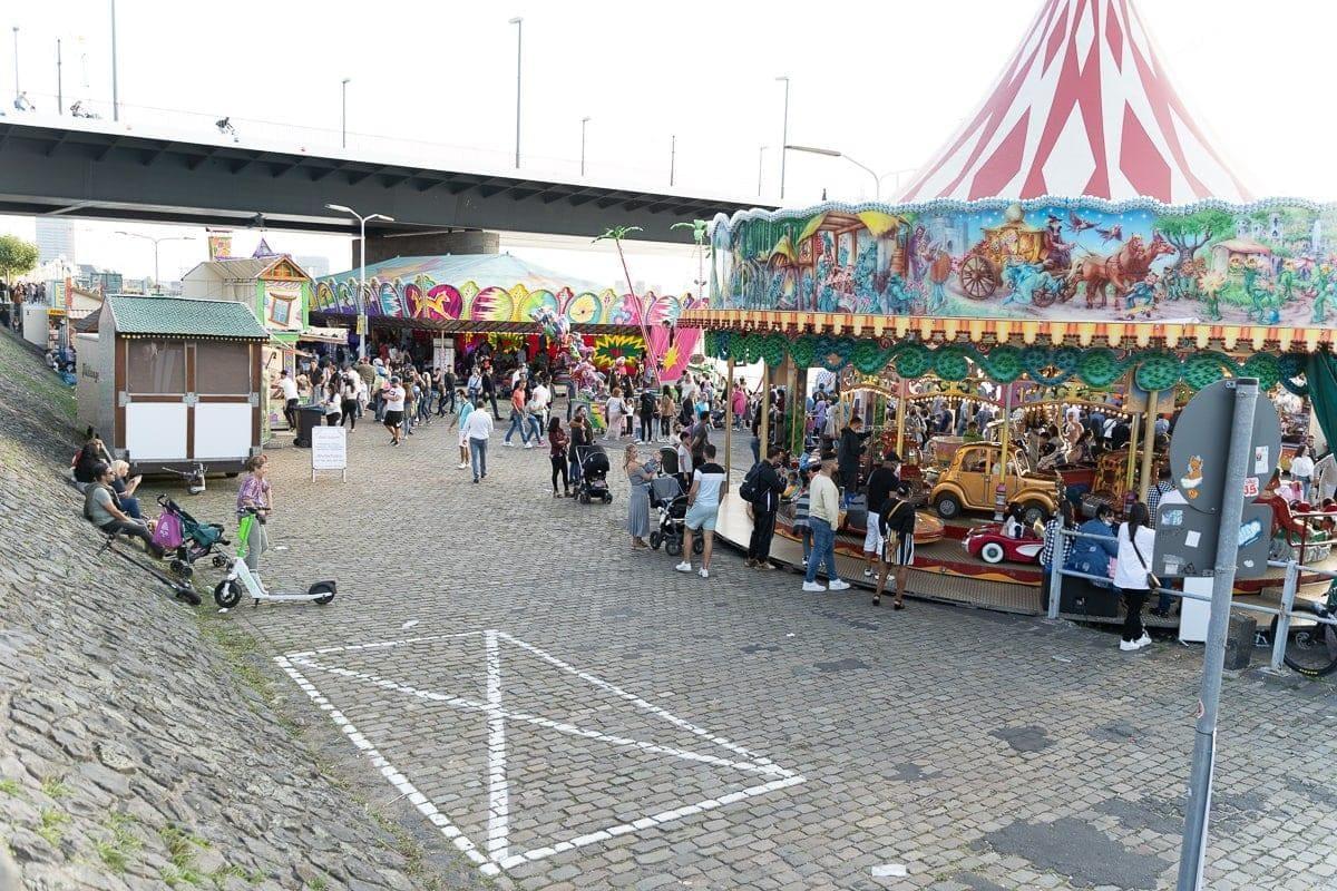 Herbstkirmes Düsseldorf 2021