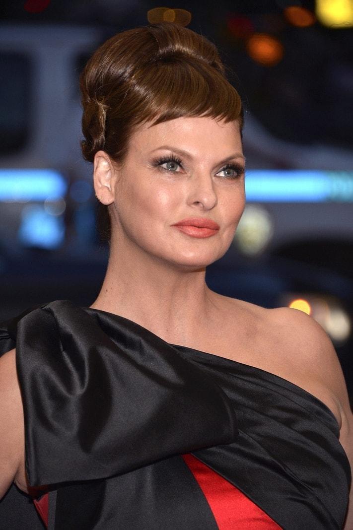 Model Linda Evangelista 2015