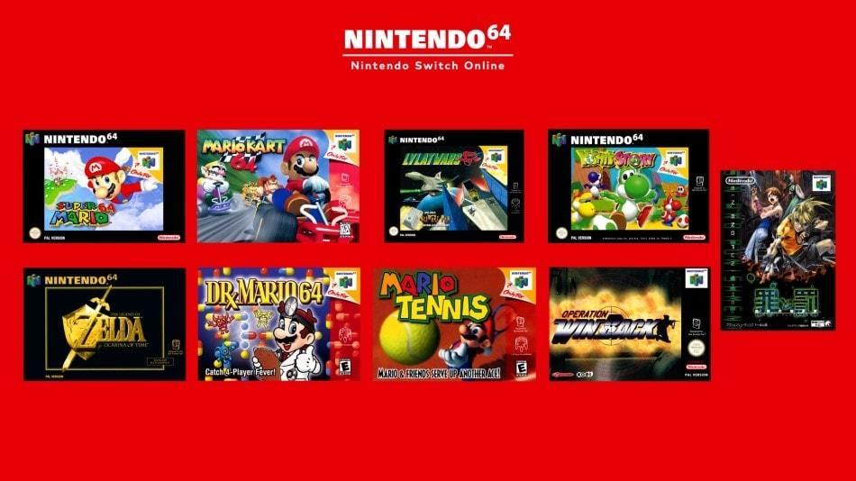 Nintendo Switch N64 Games