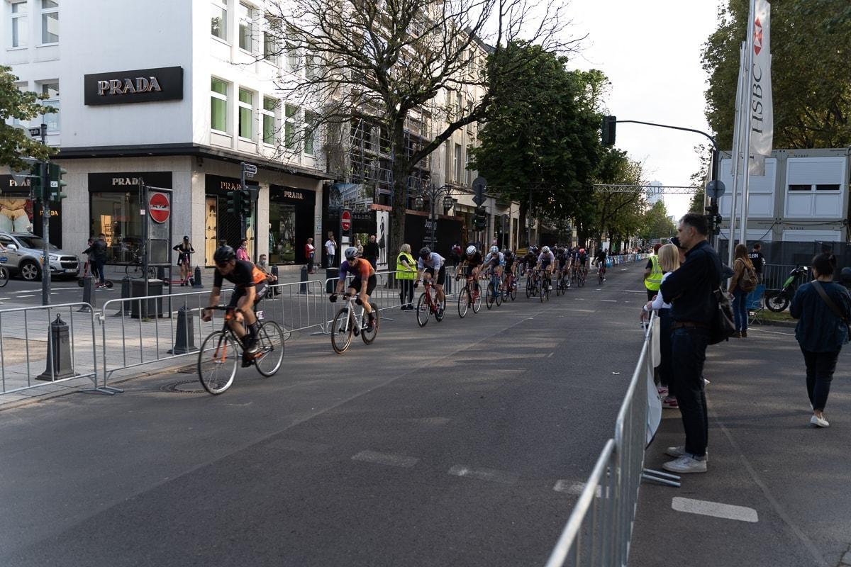 Radrennen Düsseldorf 12. September 2021