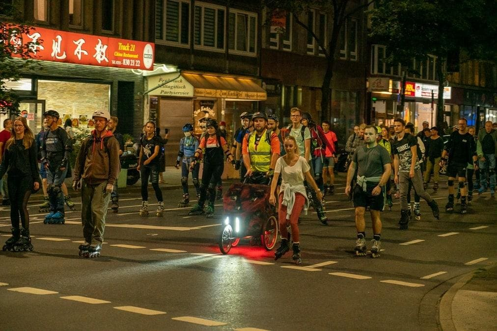 Rollnacht 16. September 2021 Düsseldorf