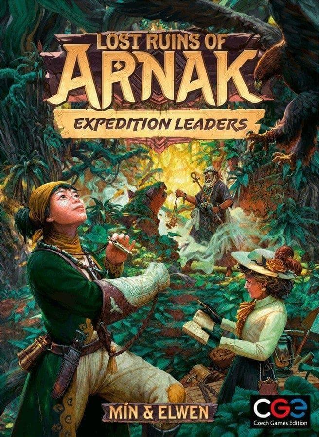 Die verlorenen Ruinen von Arnak - Expedition Leaders