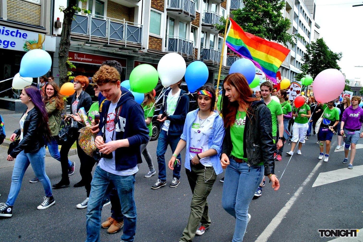CSD Christopher Street Day Düsseldorf 2015