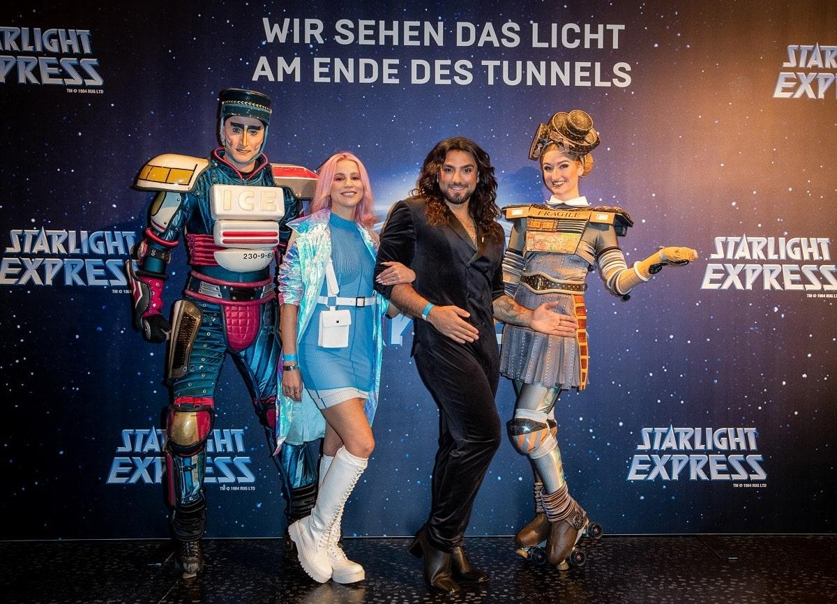 Starlight Express Opening Show - Roter Teppich
