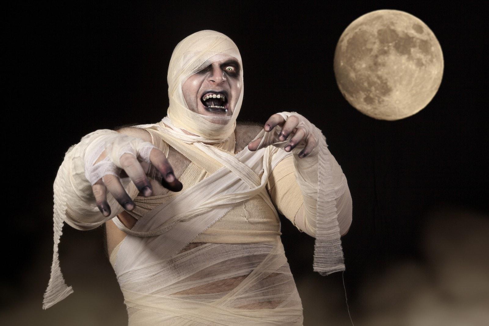 Mumie Halloween Horror