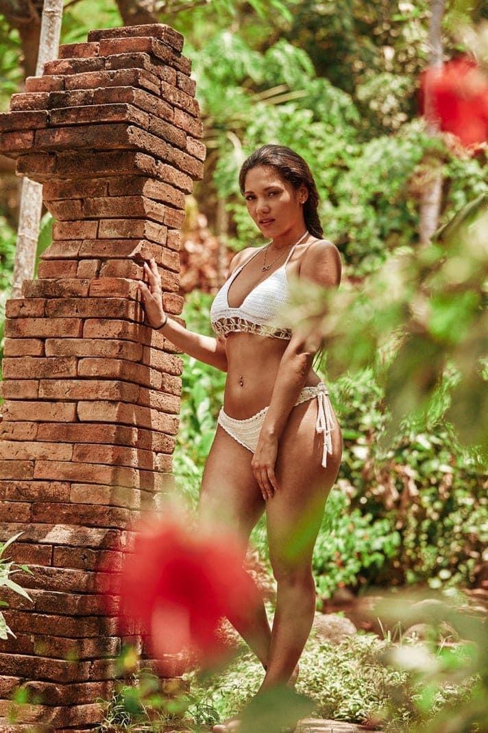 """<p>Saskia (Bachelor-Kandidatin 2016): """"Ich hoffe auf den ein oder anderen hübschen Mann im Paradies.""""</p> Foto: MG RTL D / Arya Shirazi"""