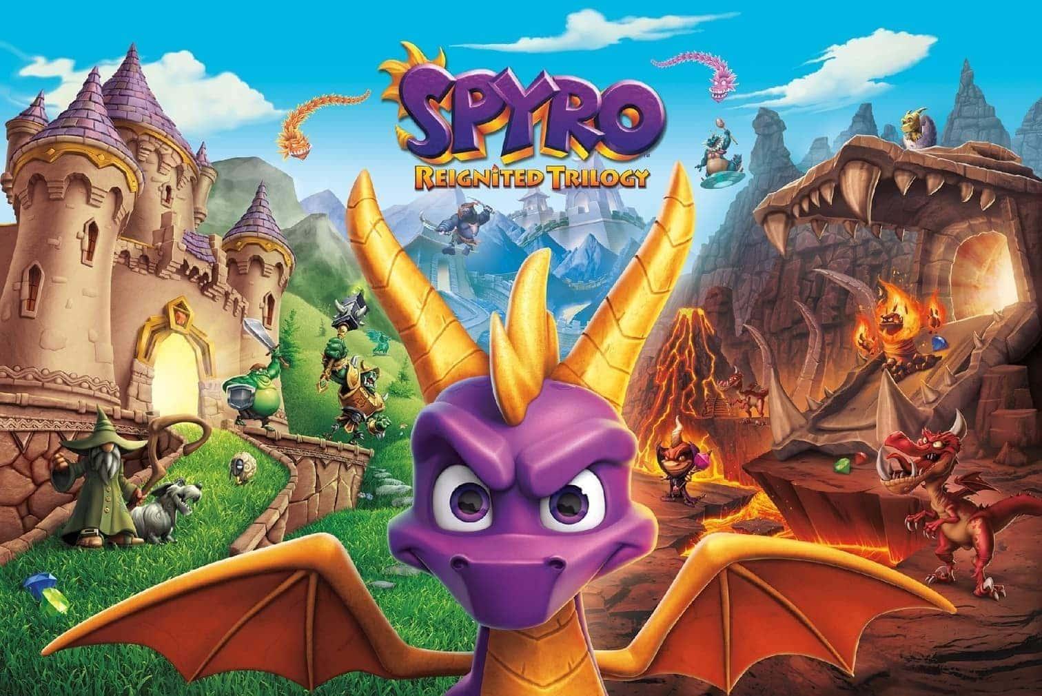 <h3>Spyro Reignited Trilogy</h3> Foto: Screenshot