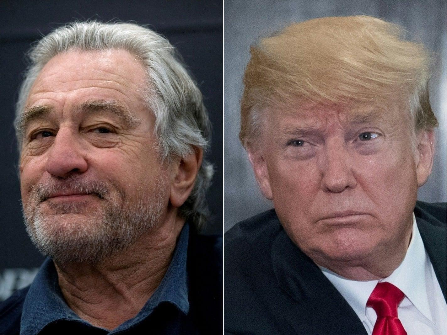 Foto: Robert De Niro Donald Trump
