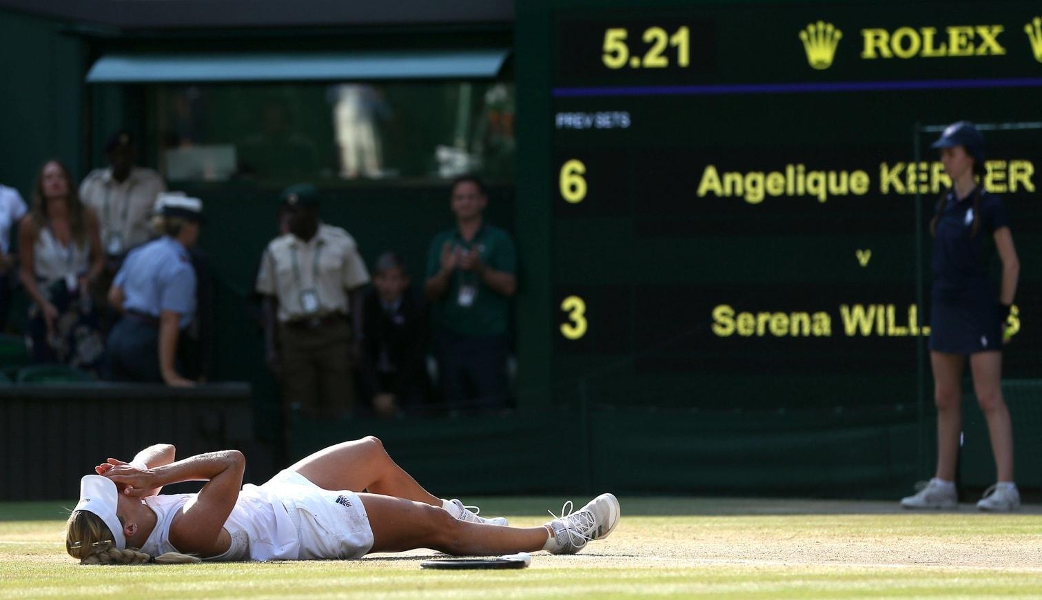 <p>Sie hatte zuvor im Finale Serena Williams 6:3