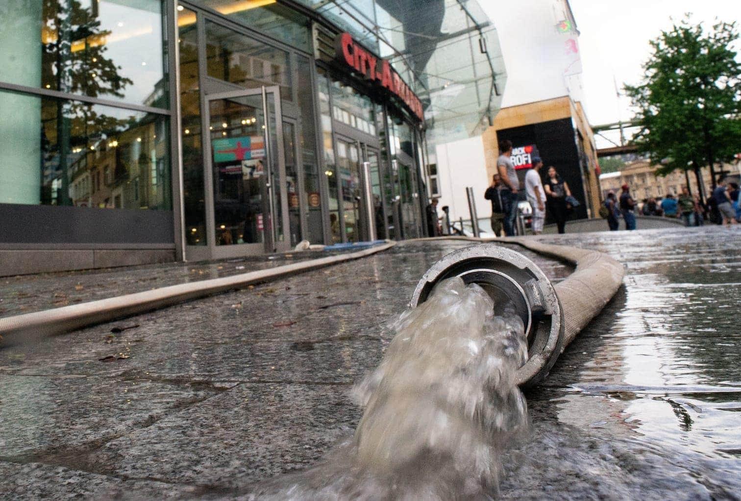 <p>Auch Wuppertal war stark vom Unwetter betroffen.</p> Foto: dpa