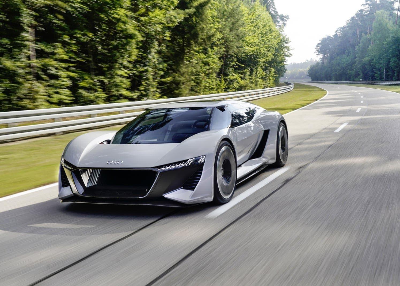 <p>Laut Hersteller erreichen die E-Motoren somit einmaximales Drehmoment von 830 Nm.</p> Foto: AUDI AG