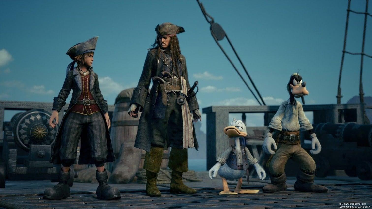 <h3>Kingdom Hearts III</h3> Foto: Screenshot