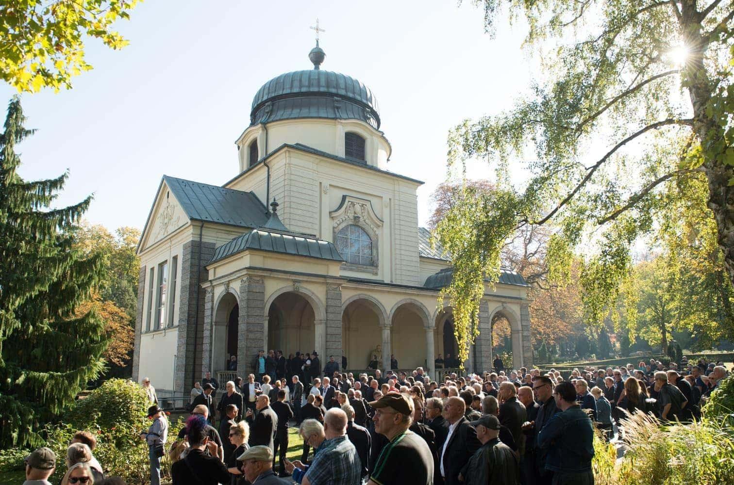 Graciano Rocchigiani Beerdigung