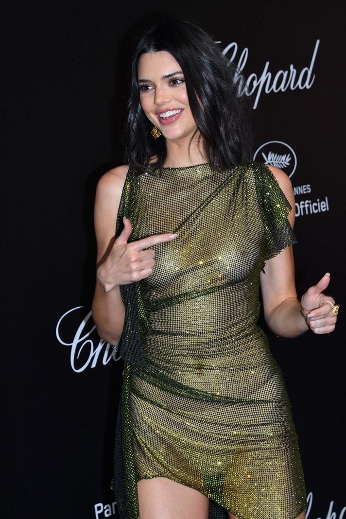Filmfestival Cannes: Kendall Jenner halbnackt