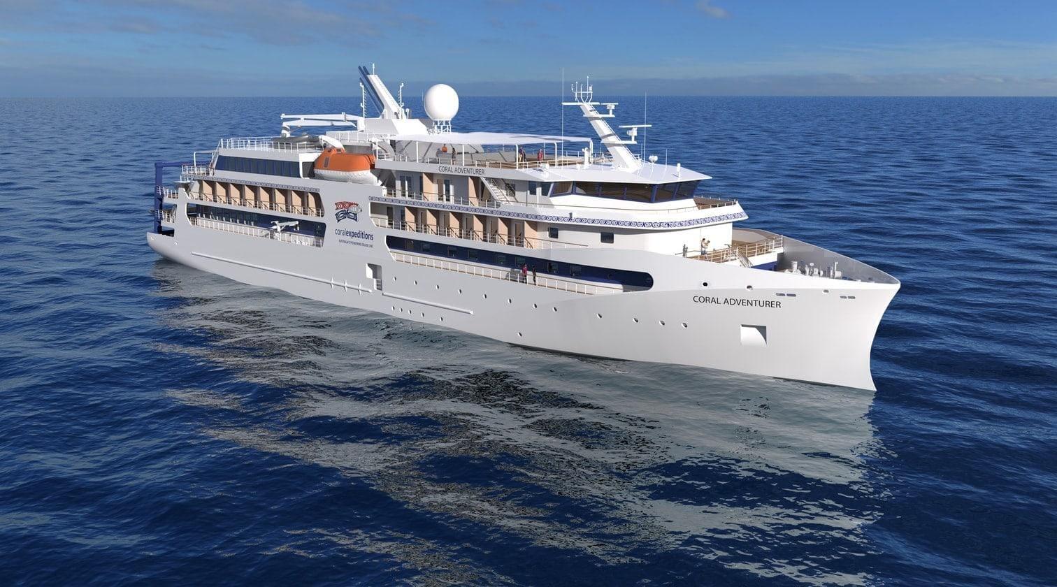 Kreuzfahrtschiff Coral Adventurer