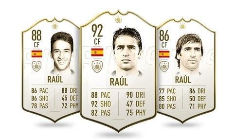FIFA 19 Icon Raul