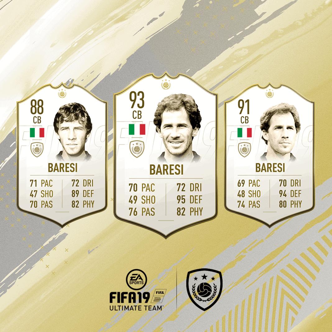 FIFA 19 Icon Marco Baresi