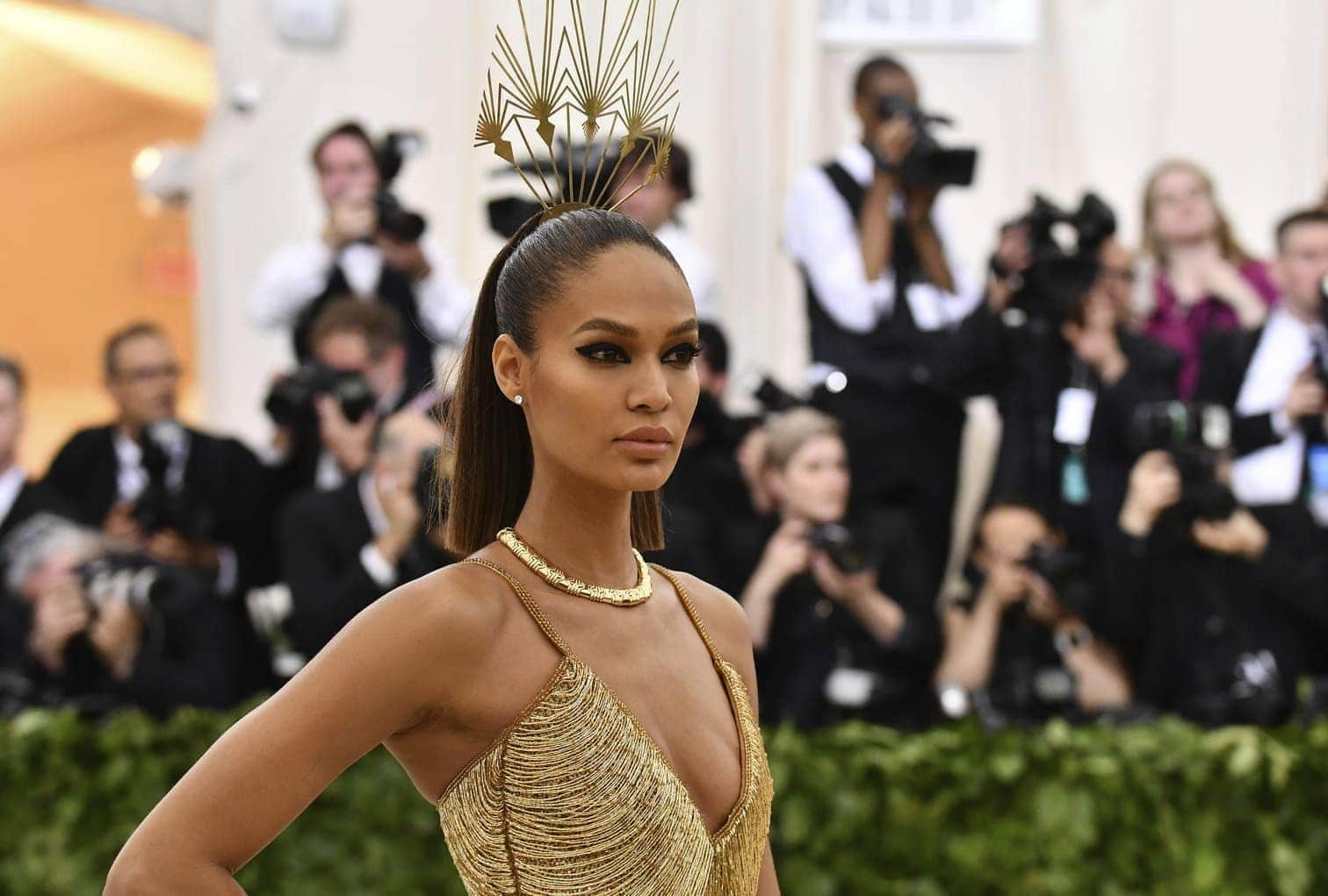 <p>Joan Smalls</p> Foto: dpa/afp