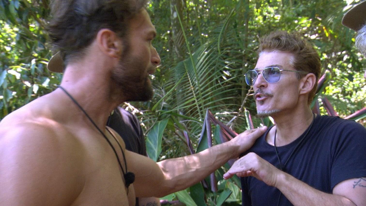 <p>Was ist denn da los? Bastian Yotta und Chris Töpperwien sind an Tag 15 im Dschungelcamp mal wieder nicht einer Meinung.</p>