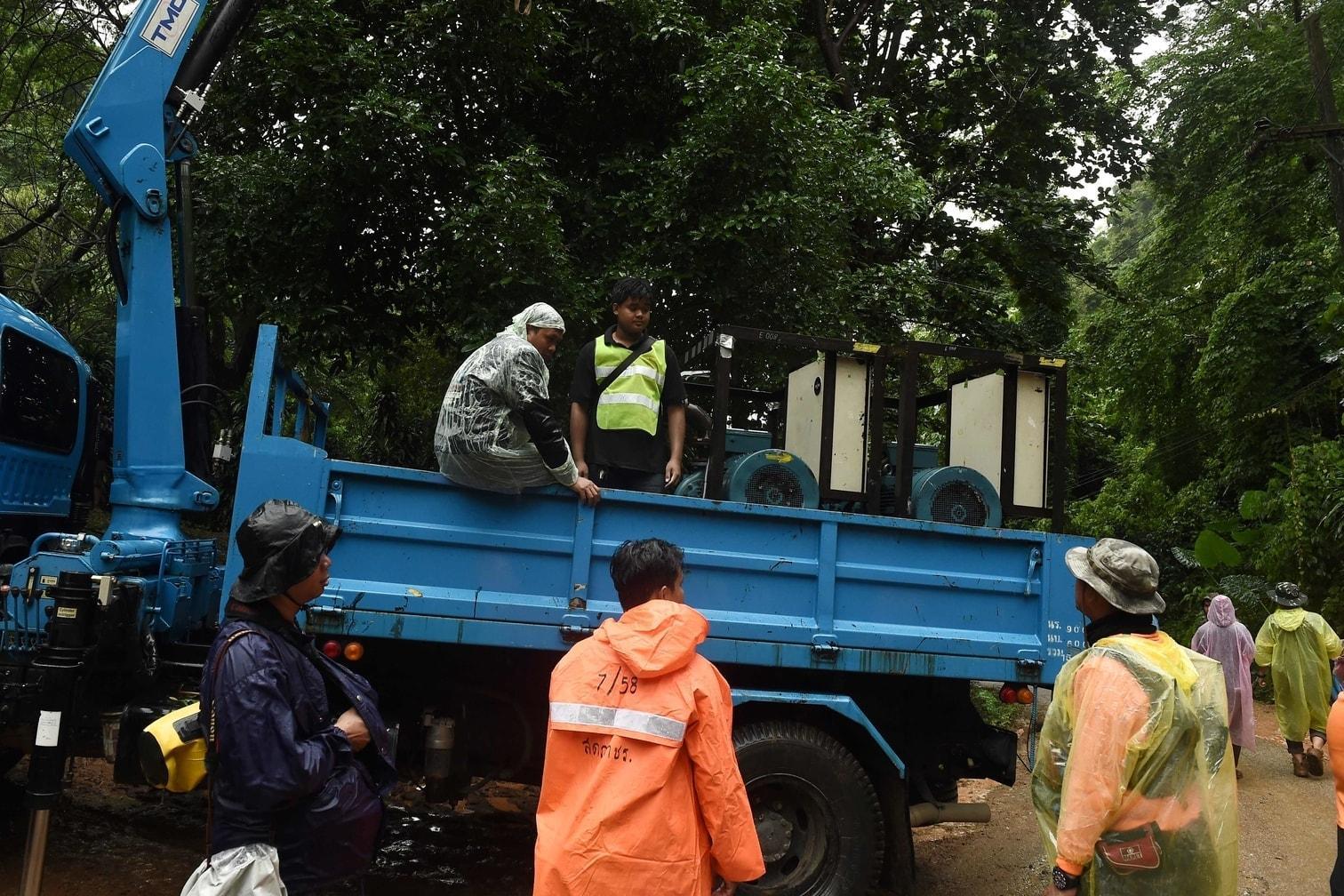 <p>Das Taucherteam werde bis ans Ende der Tham-Luang-Höhle gehen