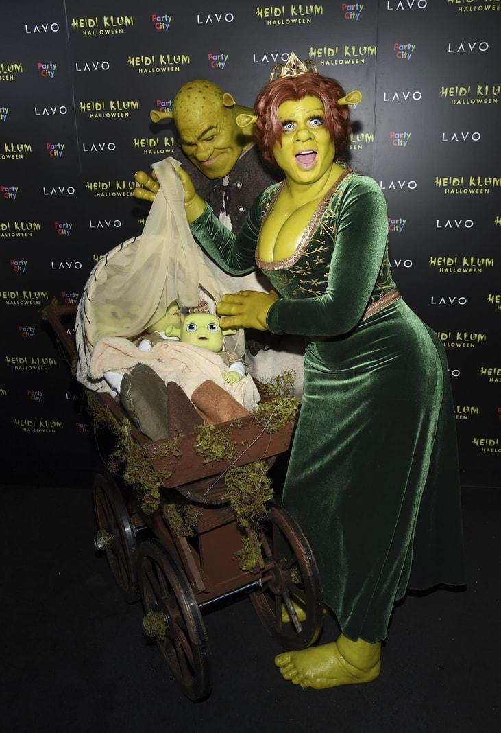 "knallgrünen Figuren aus den ""Shrek""-Animationsfilmen.</p> Foto: Evan Agostini/dpa"
