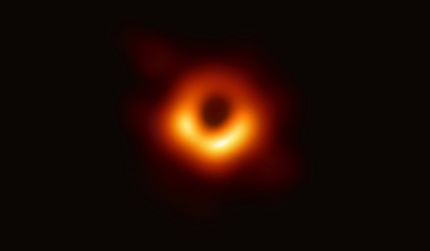 Foto: dpa/Event Horizon Telescope (EHT)