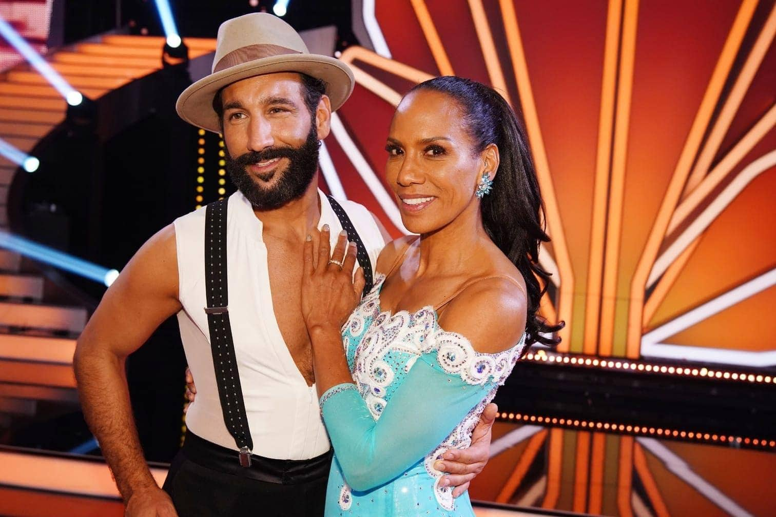 <p>Boris-Becker-Ex-Frau Barbara Becker tanzt mit Massimo Sinato.</p> Foto: TVNOW / Gregorowius