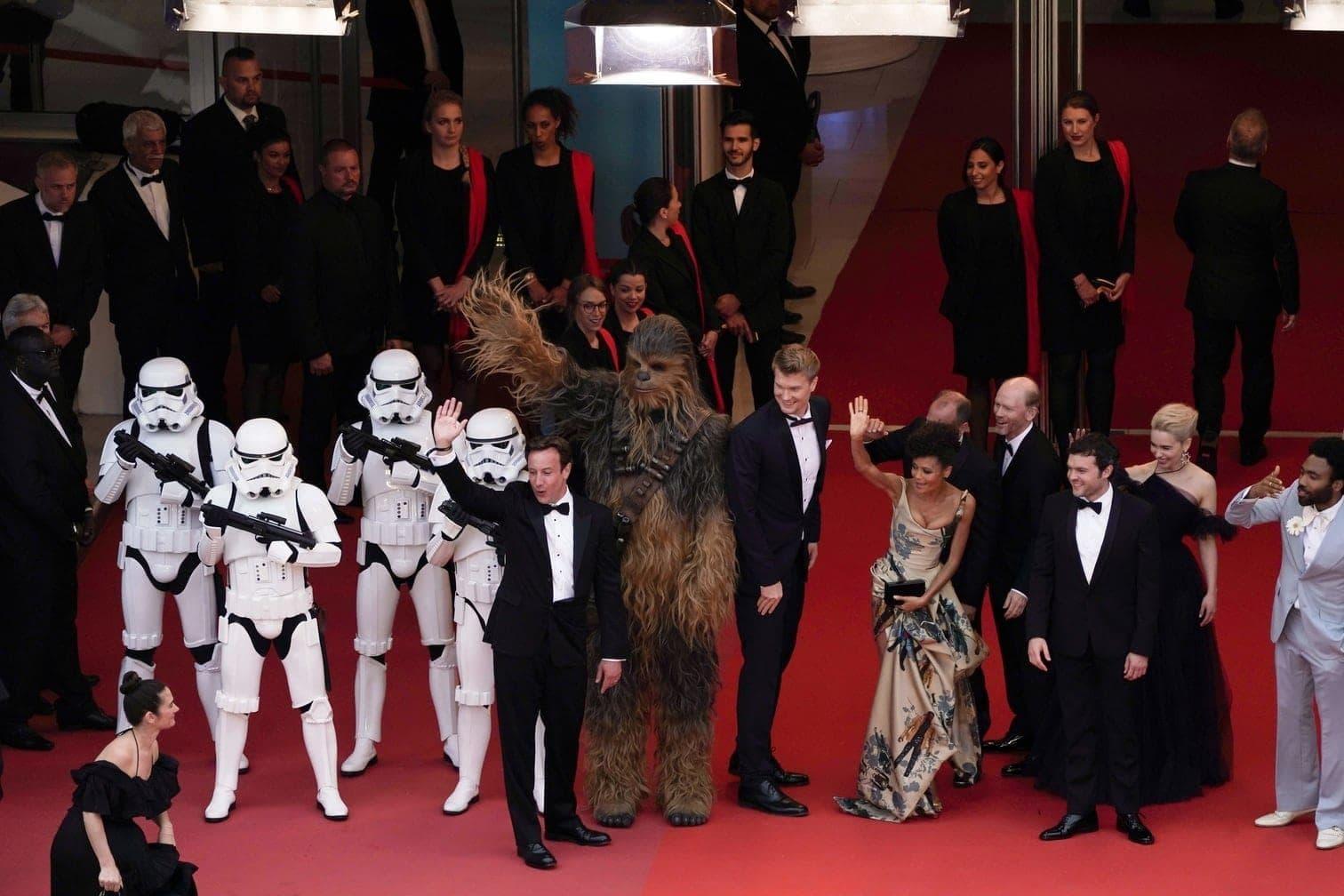 <p>Emilia Clarke und Alden Ehrenreich</p> Foto: AFP