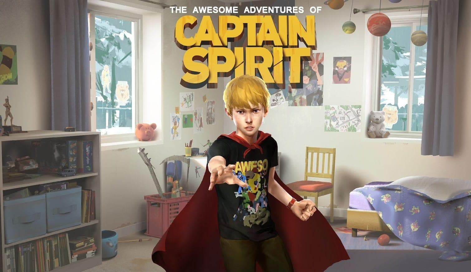 <h3>The Awesome Adventures of Captain Spirit</h3> Foto: Screenshot
