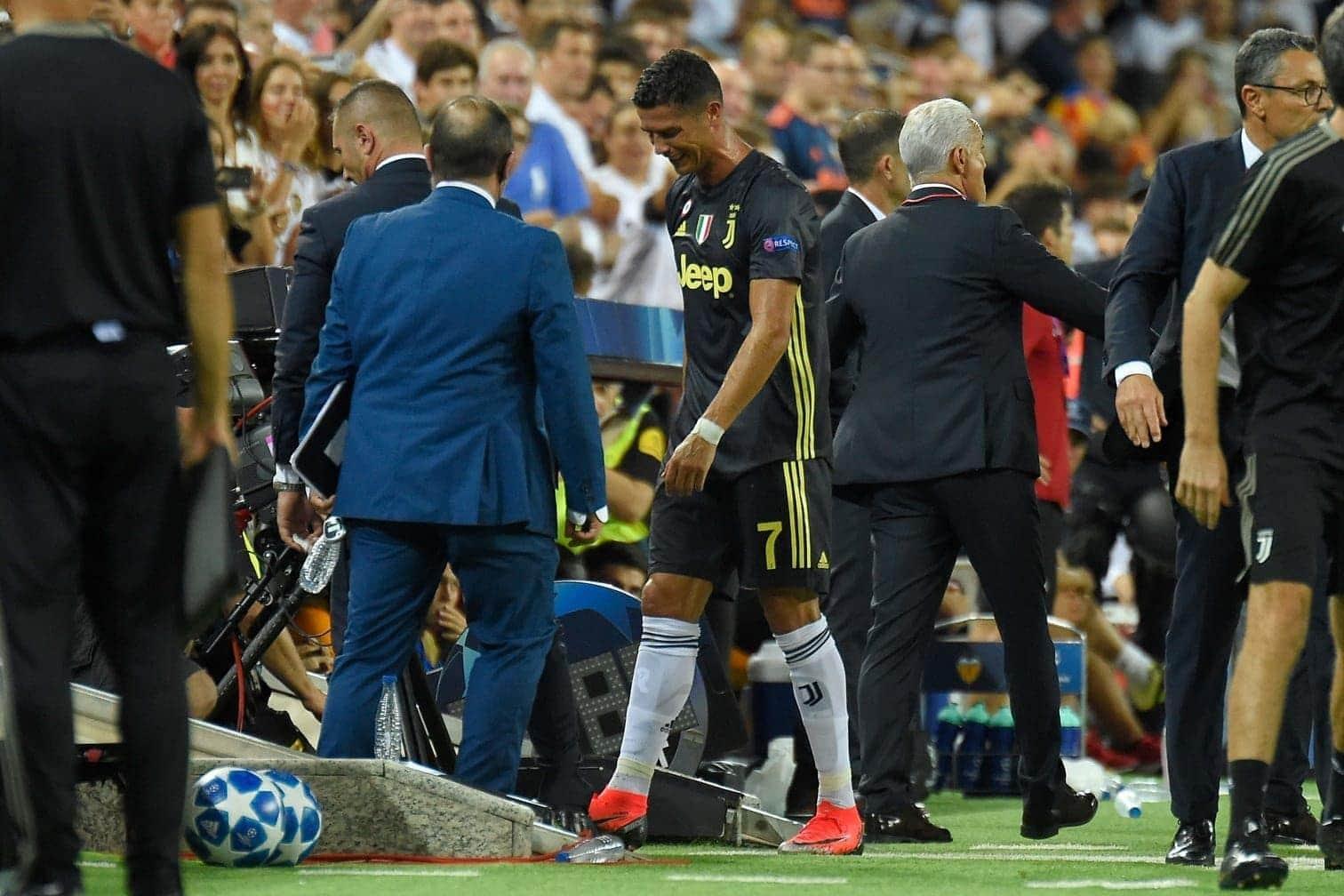 """<p>Juve-Trainer Massimiliano Allegri kritisierte die Entscheidung. """"Ich sage nur"""