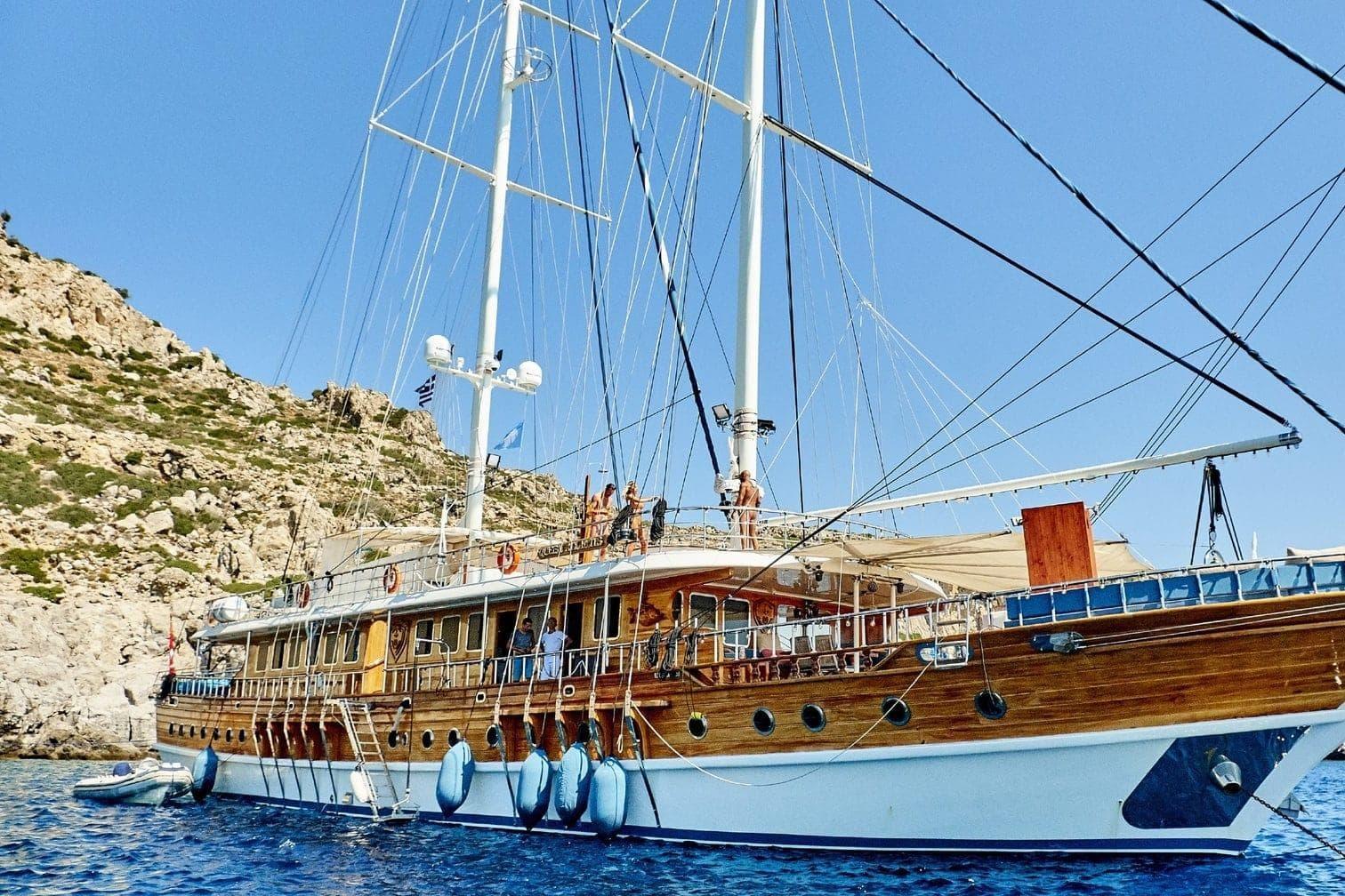 <p>Auf diesem Schiff zählen nur nackte Tatsachen.</p> Foto: MG RTL D