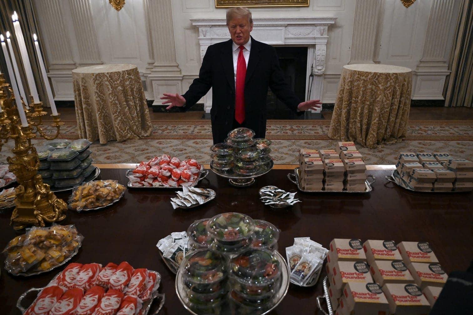 """<p>""""Wir haben American Fast Food bestellt"""