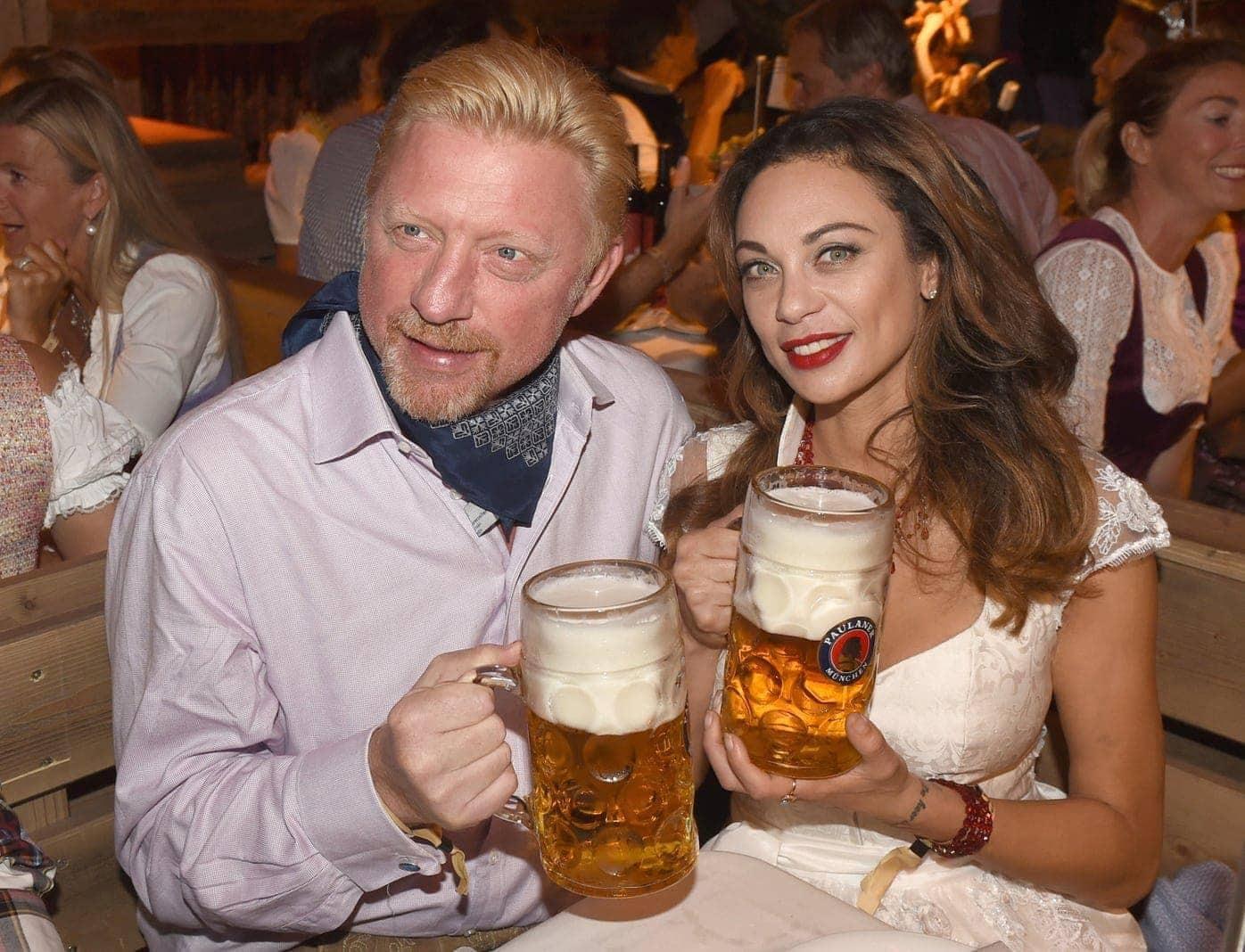<p>Tennis-Star Boris Becker und seine Ehefrau Lilly haben sich getrennt.</p> Foto: dpa
