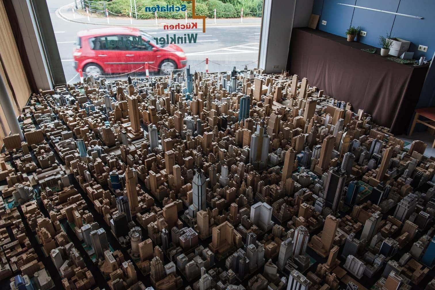sagt Sperber. Denn viele Bauten habe er aus Platzmangel gar nicht aufbauen können.</p> Foto: dpa