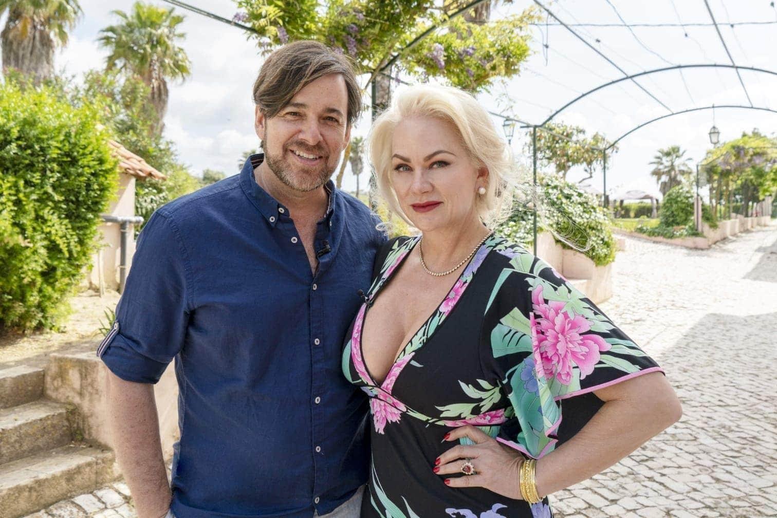 <p>Ebenfalls mit dabei sind Ex-Rotlicht-König Bert Wollersheim und seine neue Liebe Bobby Anne Baker.</p> Foto: MG RTL D / Max Kohr