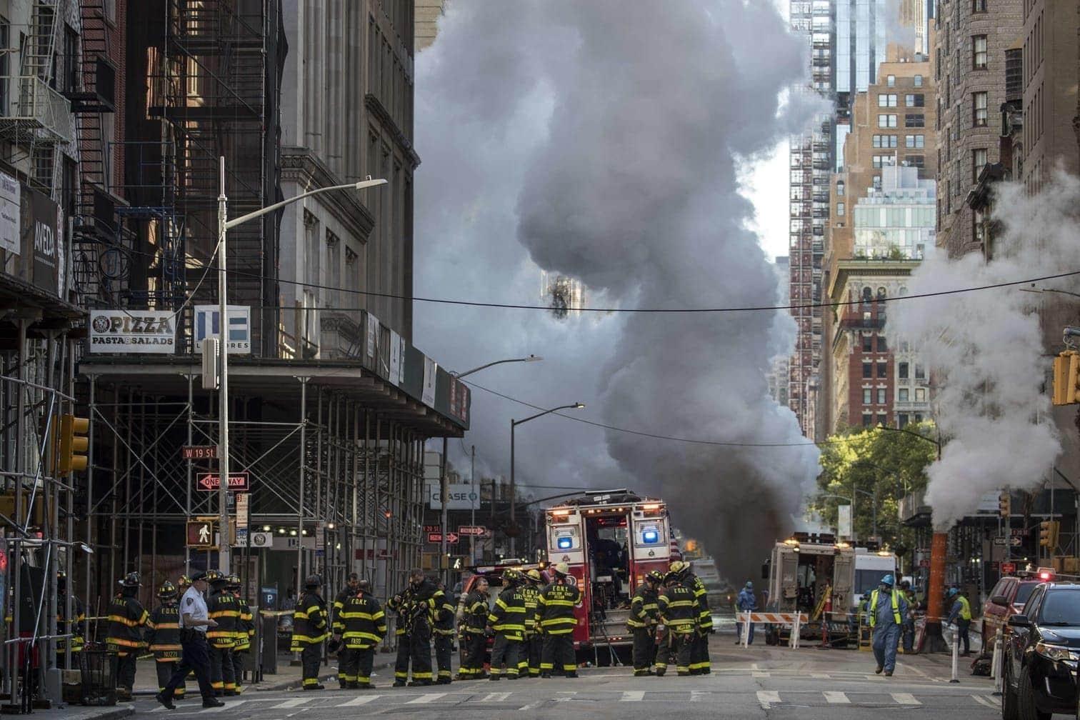 <p>Die Dampfleitung sei am Donnerstagmorgen aus zunächst unbekannter Ursache explodiert