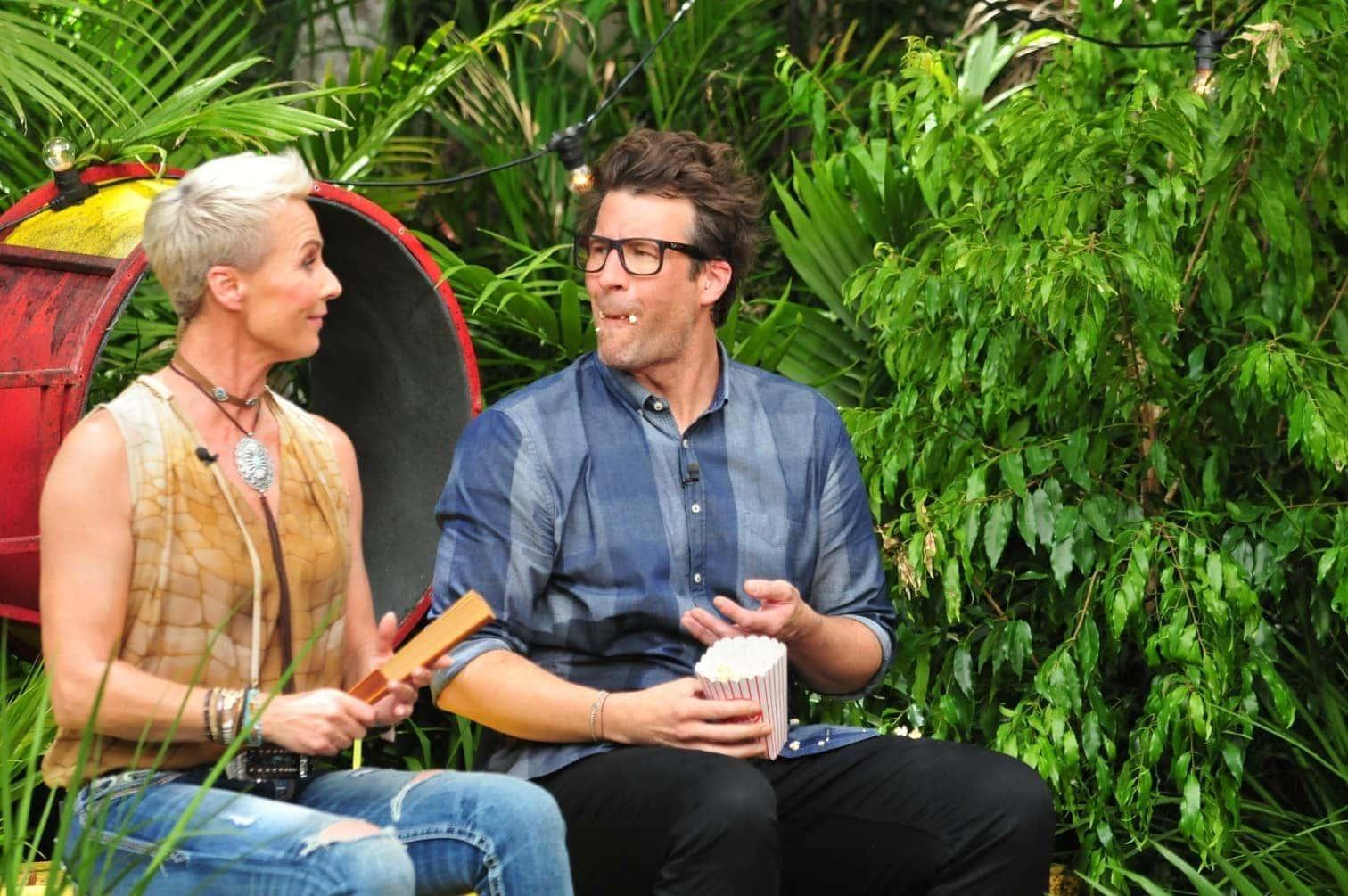 <p>Erstmals dürfen sich die Stars untereinander in die Dschungelprüfung wählen und Gisele trifft es endlich einmal nicht.</p> Foto: TV Now / Stefan Menne