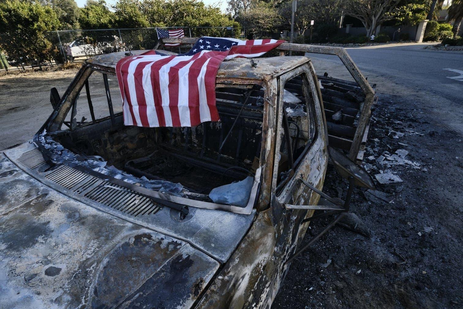 <p>Mit inzwischen mindestens 44 Todesopfern ist der Waldbrand im Norden Kaliforniens der tödlichste in der Geschichte der USA.</p> Foto: dpa/Richard Vogel