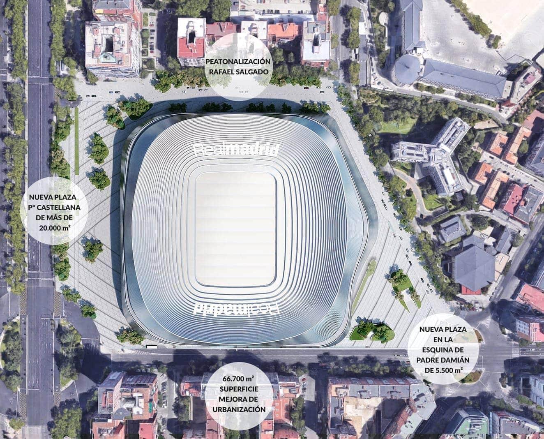 <p>Neben dem eigentlichen Stadion will Real auch ins Umfeld investieren.</p> Foto: Real Madrid C.F.