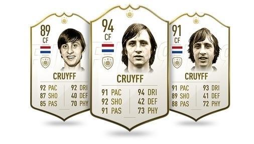 FIFA 19 Icon Johan Cruyff