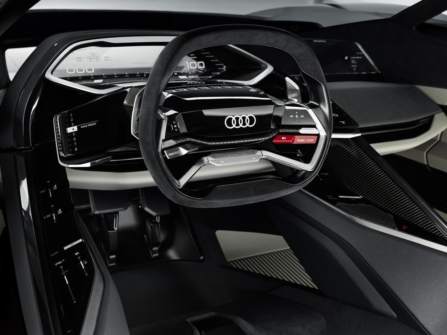 <p>Es gibt keinerlei&nbsp;komplexe Systeme fürs pilotierte Fahren und keine gewichtstreibenden Komfort-Attribute.</p> Foto: AUDI AG