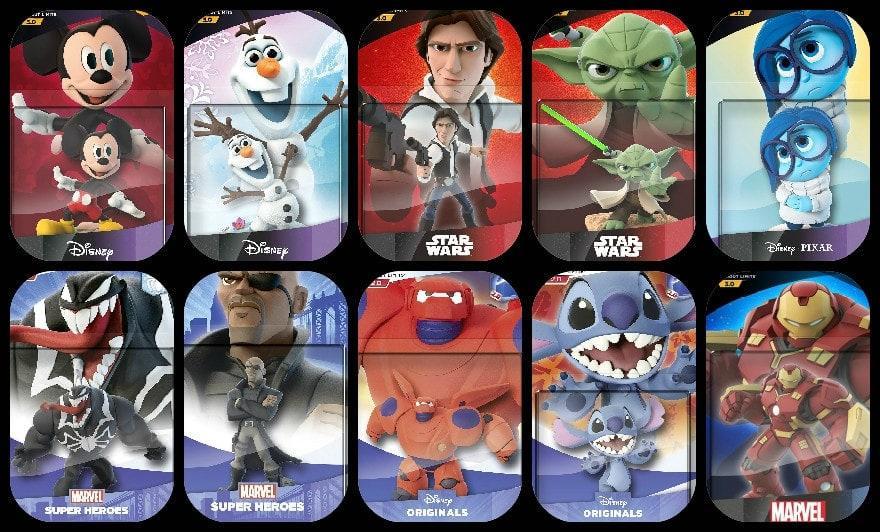 """<p>Über die Jahre ist der Figuren-Kosmos von """"Disney Infinity"""" stetig gewachsen: Wir liefern den kompletten Überblick über alle Helden"""
