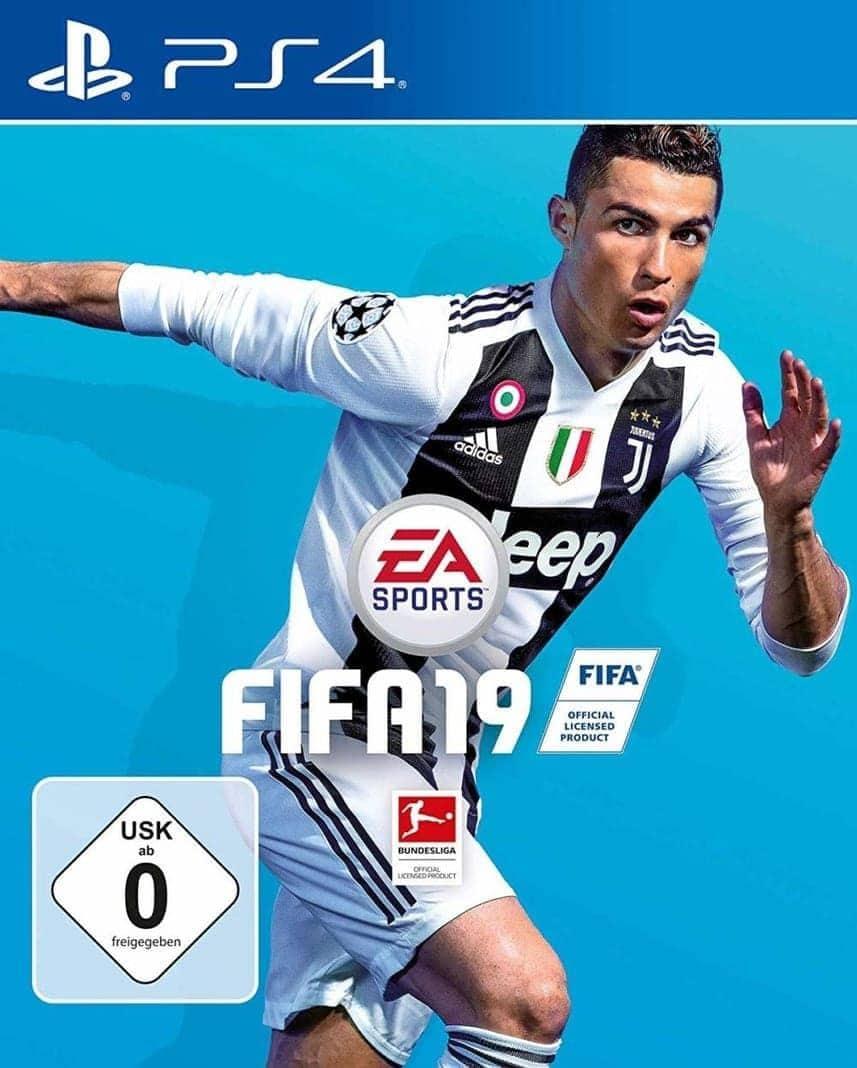 Cover FIFA 19 Cristiano Ronaldo