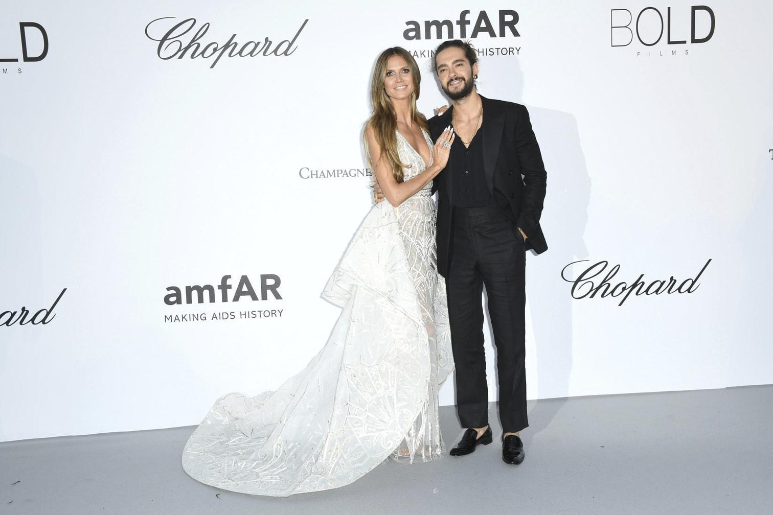 <p>Heidi Klum und Tom Kaulitz</p> Foto: dpa